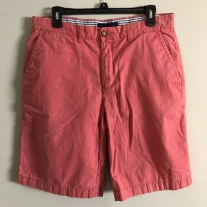 Tommy Hilfiger salmon flat front shorts size 32